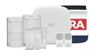 ERA HomeGuard Pro Wireless Smart Phone Alarm System - Silver Kit